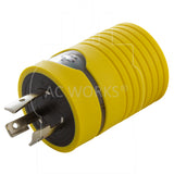 compact yellow RV adapter