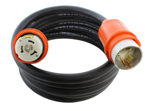 50 amp emergency power cable by AC WORKS, AC Connectors shore power cable