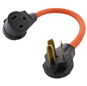 AC WORKS brand flexible welder adapter, dryer outlet to welder connection