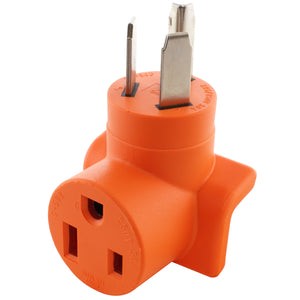Right angle adapter, 90 degree adapter, welder adapter, orange adapter, compact adapter, AC WORKS, AC Connectors