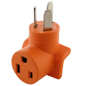 orange compact welder adapter, old style welder outlet to new style welder connector