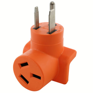 compact welder adapter by AC WORKS, orange welder adapter by AC WORKS, old style to new style welder adapter