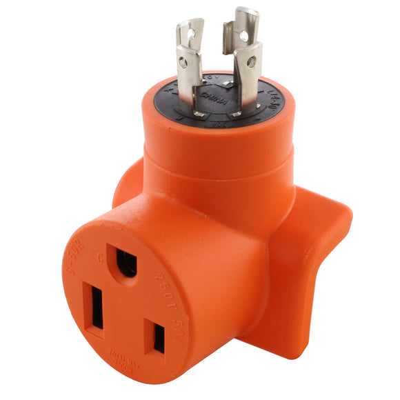 compact welder adapter, 90 degree adapter, right angle adapter, orange adapter, welder adapter, welder adapter