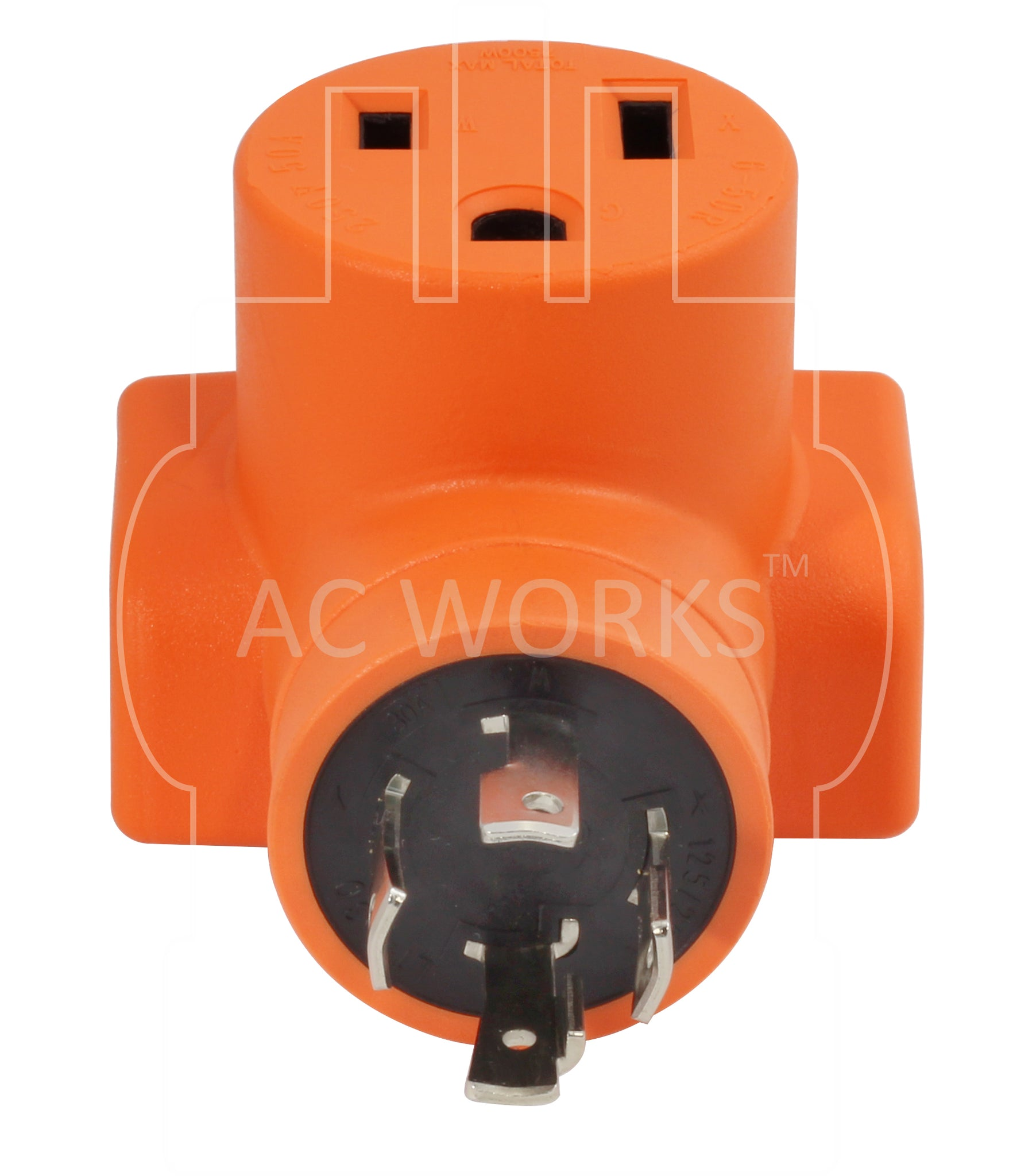 Ac Works Welder Adapter Wdl1430650 Nema L14 30p To 6 50r Also 220 Volt Generator On Cord Wiring 650 L1430 Plug 4 Prong Locking