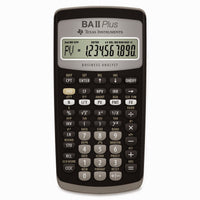 Calculadora Texas Instruments TI BA II Plus - AlmacenEducativo.com