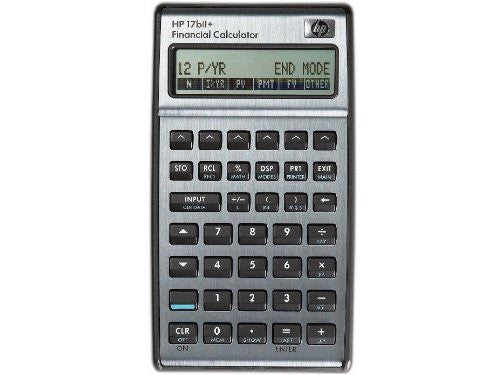 Calculadora Financiera HP 17BII+ - AlmacenEducativo.com