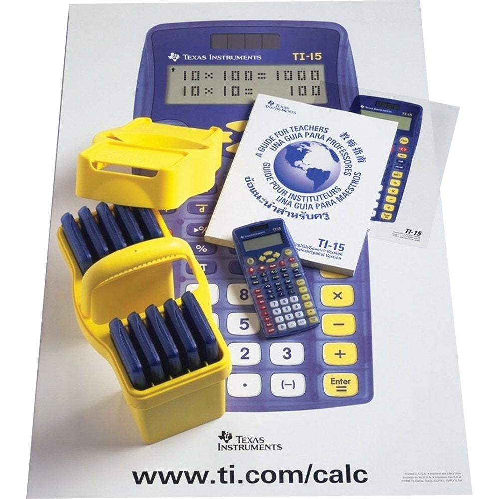 Kit de Calculadoras Texas Instruments TI-15 Explorer TKT - AlmacenEducativo.com