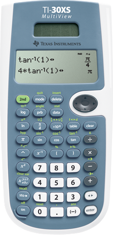 Calculadora Texas Instruments TI 30XS Multi-view - AlmacenEducativo.com