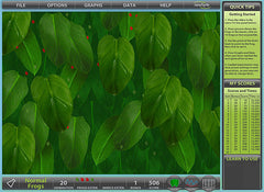 Software Educativo Newbyte: Laboratorio de Selección Natural - Ranas