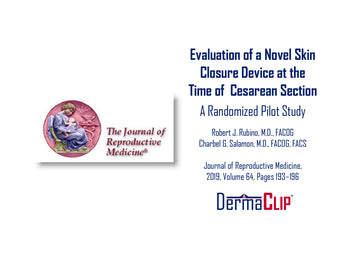 Evaluation of a Novel Skin Closure Device at the Time of Cesarean Section: A Randomized Pilot Study