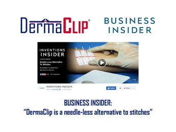Business Insider's Tech Insider Features DermaClip with over 7 Million Views