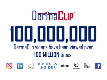 DermaClip Hits over 100,000,000 Social Media Views