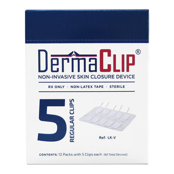 Box of DermaClip, Regular Size (LK-V), 12 Packages