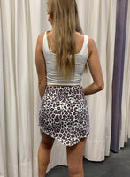 Leopard Distressed Mini