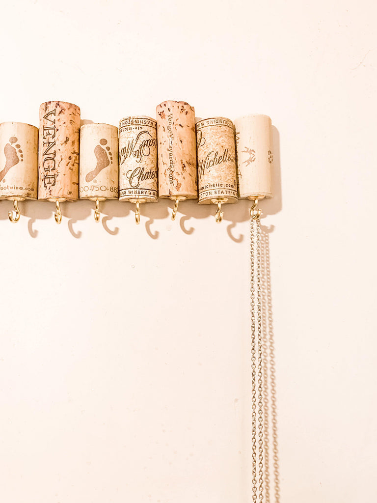 Wine Cork Jewelry Holder