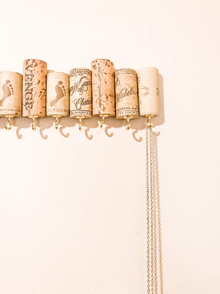 Wine Cork Jewelry Holder - shop dolled up