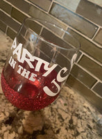 Glitter Wine Cup - shop dolled up