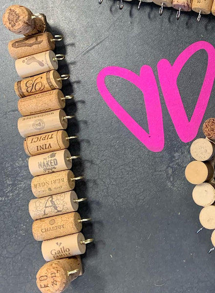Pop of Champagne Wine Cork Jewelry Holder - shop dolled up