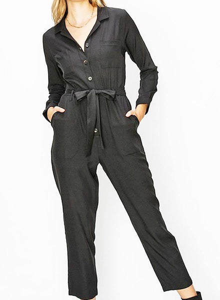Little Black Jumpsuit - shop dolled up