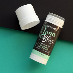 LUNA BLISS Natural Deodorant (Magnesium + Charcoal)