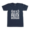 4 out of 5 Great Lakes Unisex T-Shirt