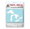 Classic Great Lakes Vinyl Decal