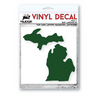 Classic State of Michigan Vinyl Decal