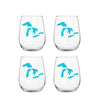Great Lakes Stemless Wine Glass Set