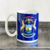 Michigan Coat of Arms Mug