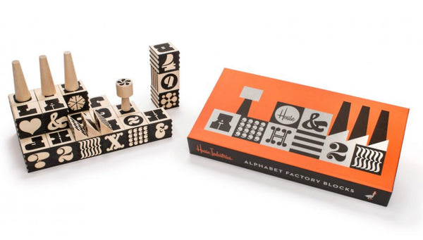 House Industries Alphabet Factory Blocks