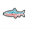 Michigan Fish Decal
