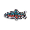 Fishigan Enamel Pin