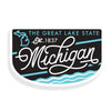 Great Lakes State Badge Decal