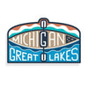 Kayak Michigan Decal