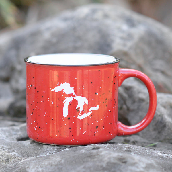Ceramic Great Lakes Campfire Mug