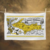 Upper Peninsula Flour Sack Towel