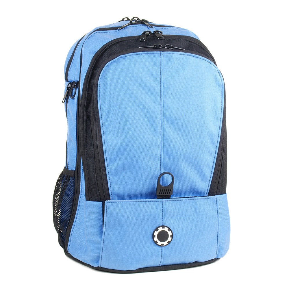 Backpack Diaper Bag  - Solid All Columbia Blue