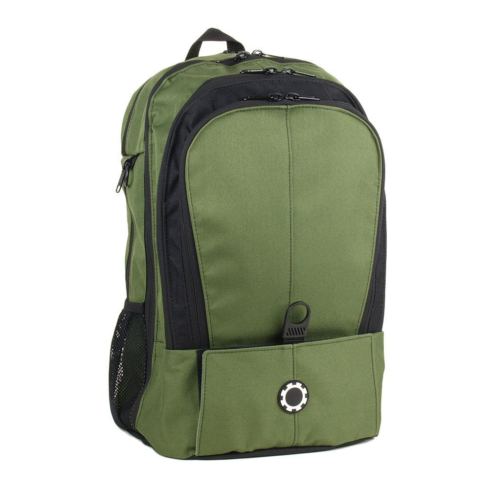 Backpack Diaper Bag  - Solid All Forest Green