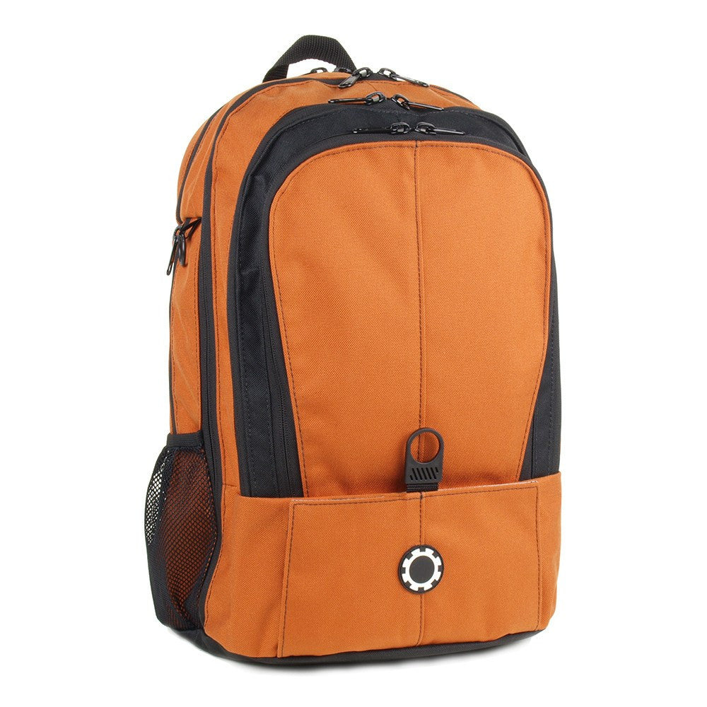 Backpack Diaper Bag  - Solid All Burnt Orange