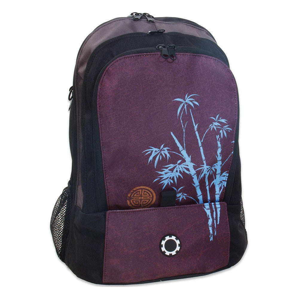 Backpack Diaper Bag  - Graphics Blue Bamboo