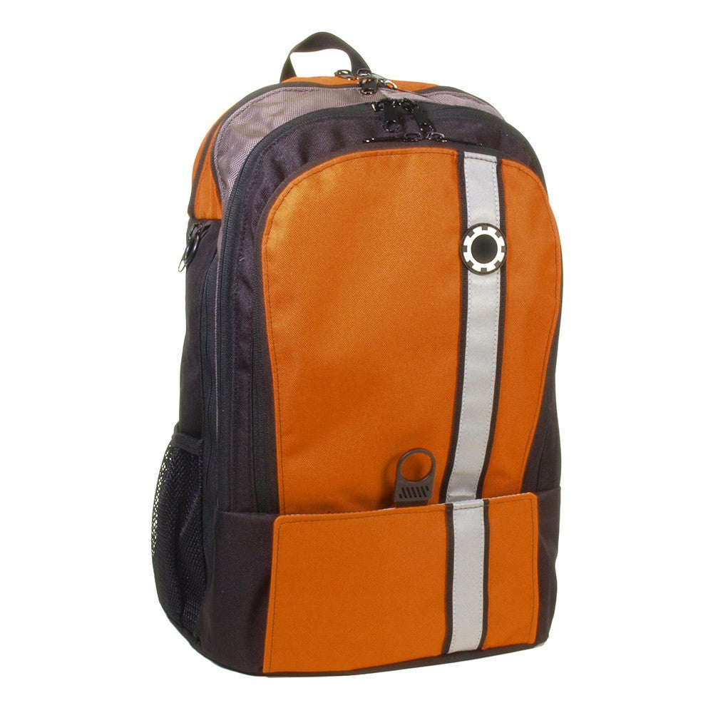Backpack Diaper Bag  - Retro Stripe Retro Stripe Orange