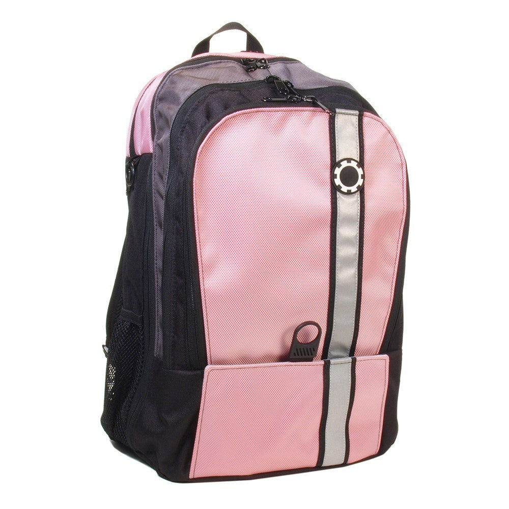 Backpack Diaper Bag  - Retro Stripe Retro Stripe Pink