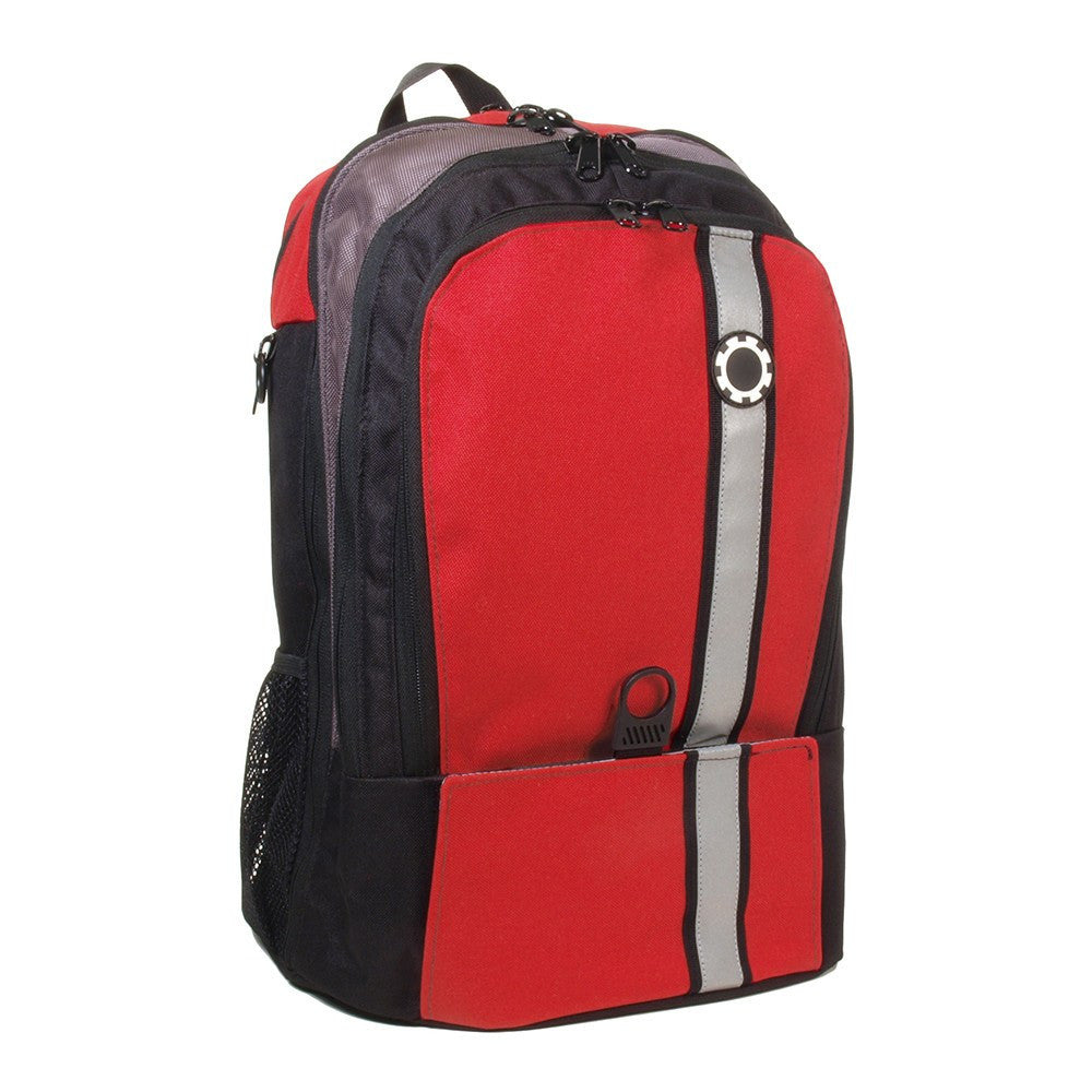 Backpack Diaper Bag  - Retro Stripe Retro Stripe Red