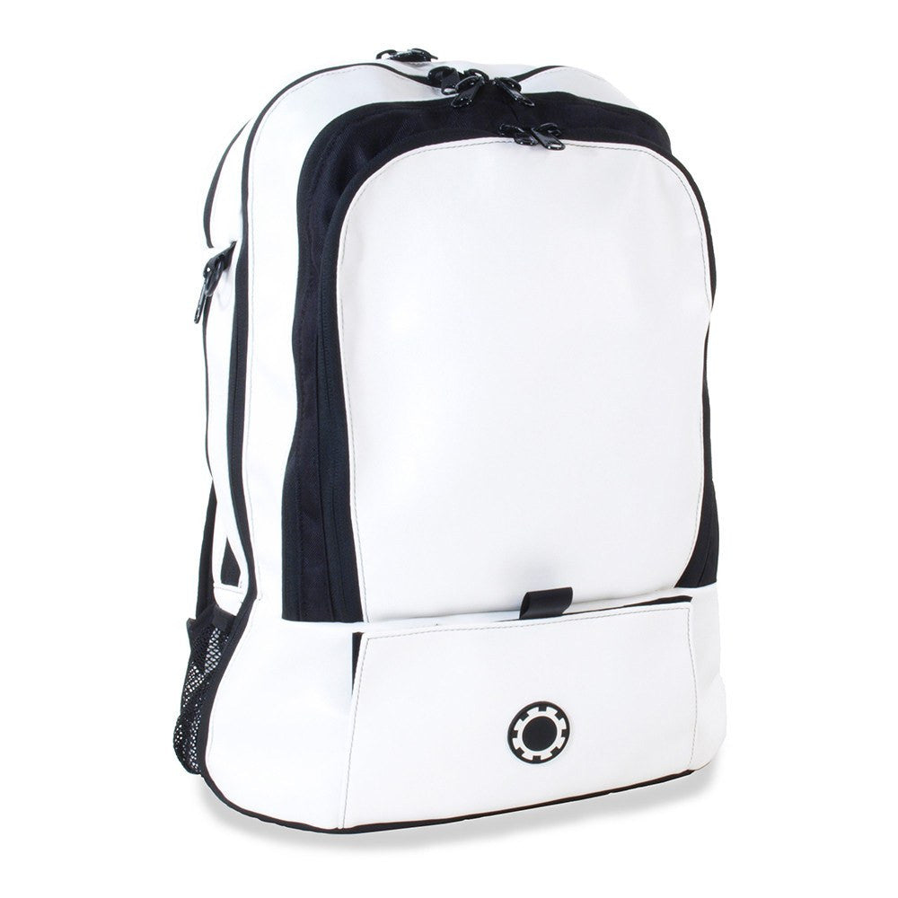 Backpack Diaper Bag  - Professional Wicked White