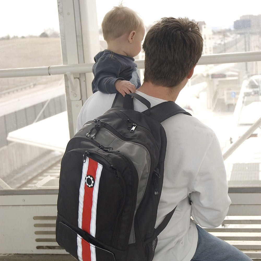 Backpack Diaper Bag  - Retro Stripe