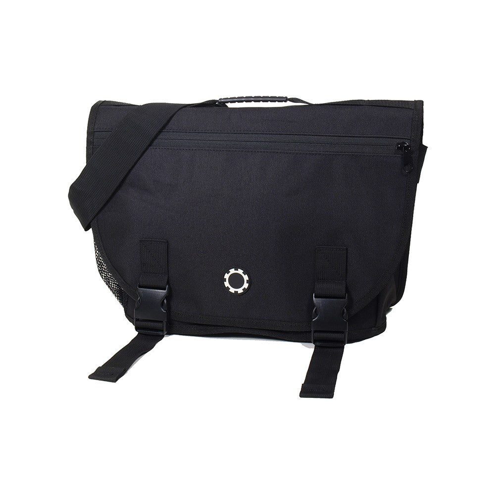 DadGear Courier Style Messenger Diaper Bag  - Basic Black