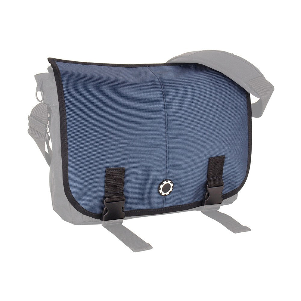 DadGear Interchangeable Messenger Flap  - Solid Slate Blue