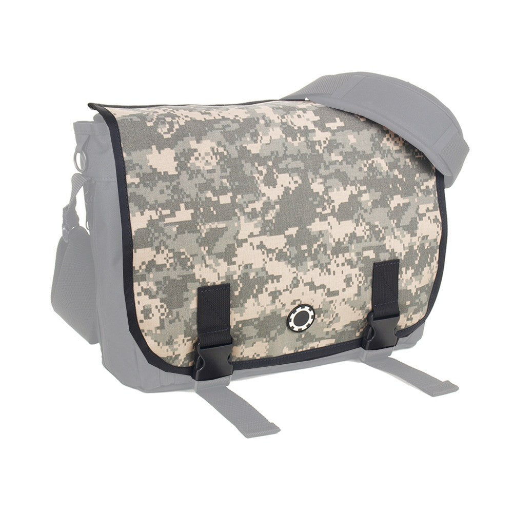 DadGear Interchangeable Messenger Flap -Universal Camouflage