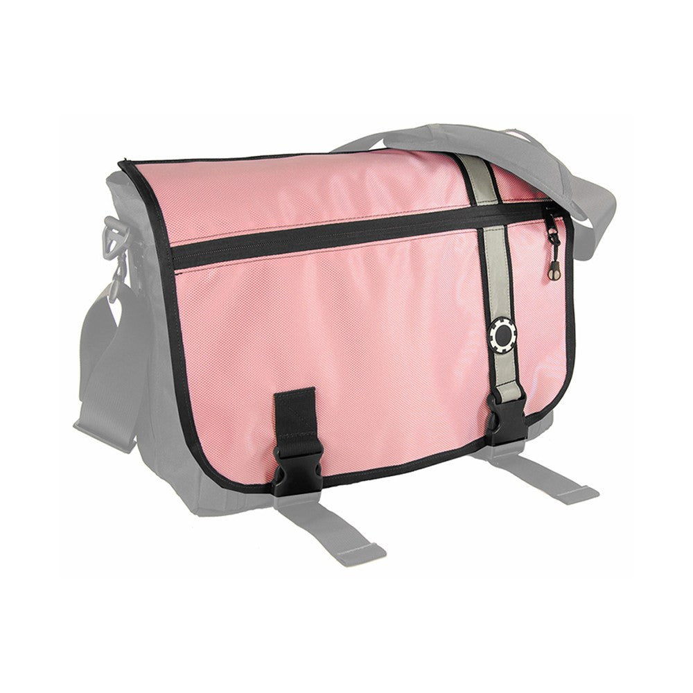 DadGear Interchangeable Messenger Flap  - Retro Stripe Retro Stripe Pink