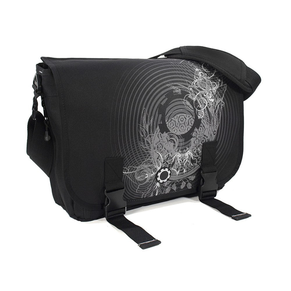 Messenger Diaper Bag  - Graphics - DadGear